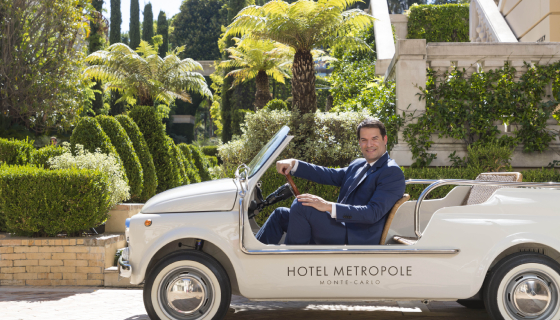 Jesus Scott, Director of Sales hotel Metropole Monte-Carlo.