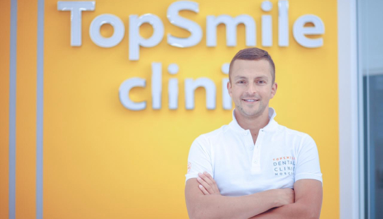 Alexander Zharov, owner of TopSmile dental clinics.